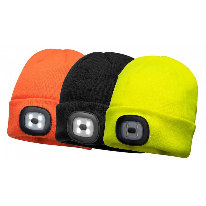 Portwest Beanie Hat LED Headlight Image