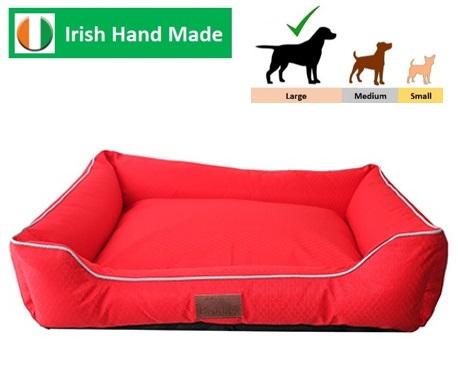 Beddies Waterproof Lounger Red/Grey L/XL  100x70x25cm Image