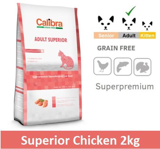 CALIBRA GRAIN FREE ADULT SUPERIOR / CHICKEN & POTATO Image