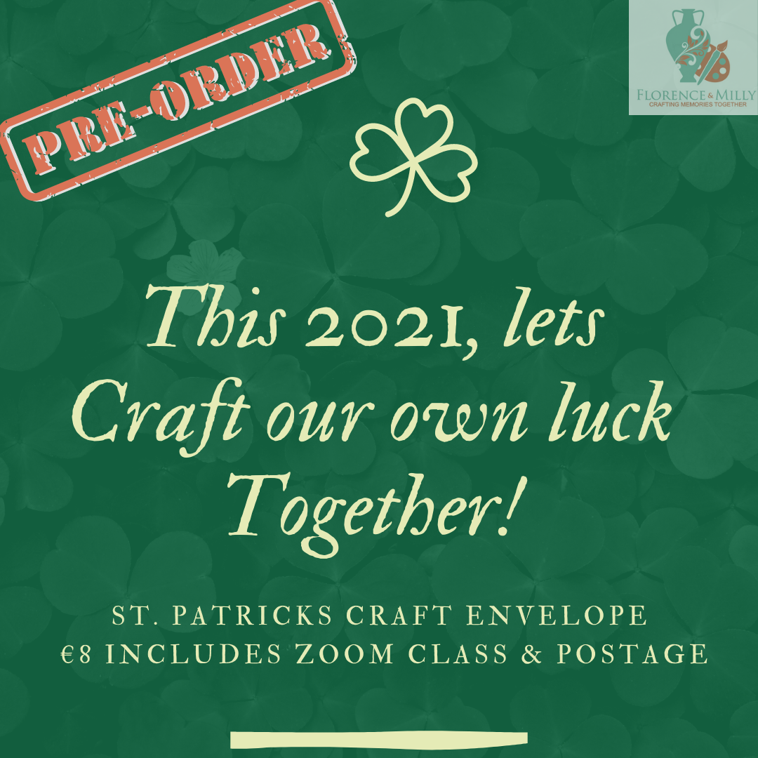 St. Patrick's Craft Envelope 2021 Image