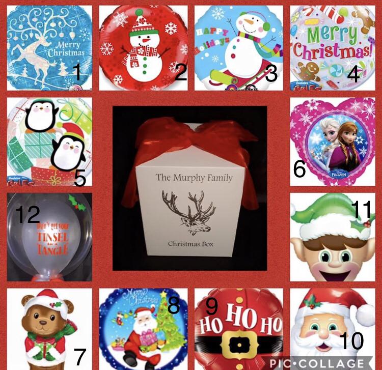Personalised Christmas Gift Box Image