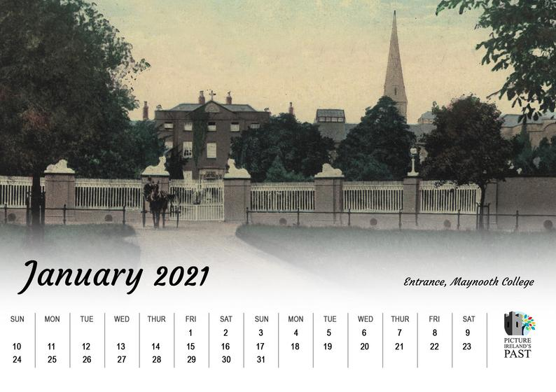 2021 Maynooth desk calendar Image