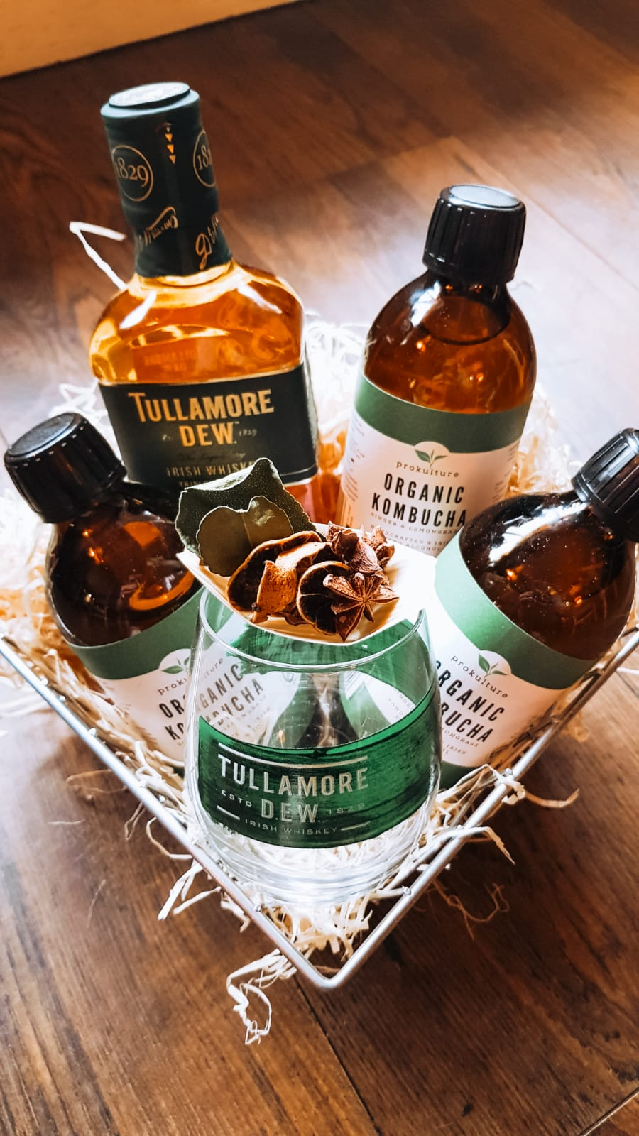 Tullamore Dew & Kombucha Hamper Image