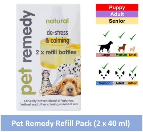 Pet Remedy Refill Pack 40ml (Qty 2) Image