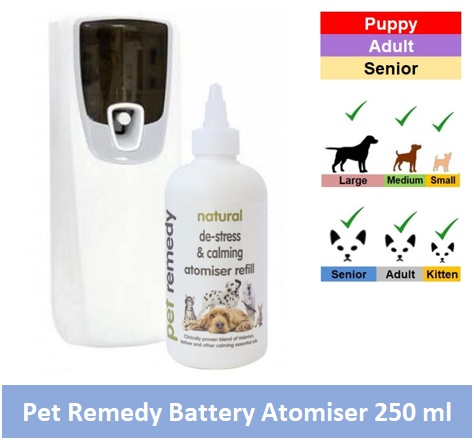 Pet Remedy battery operated Atomiser with 250ml bottle Image