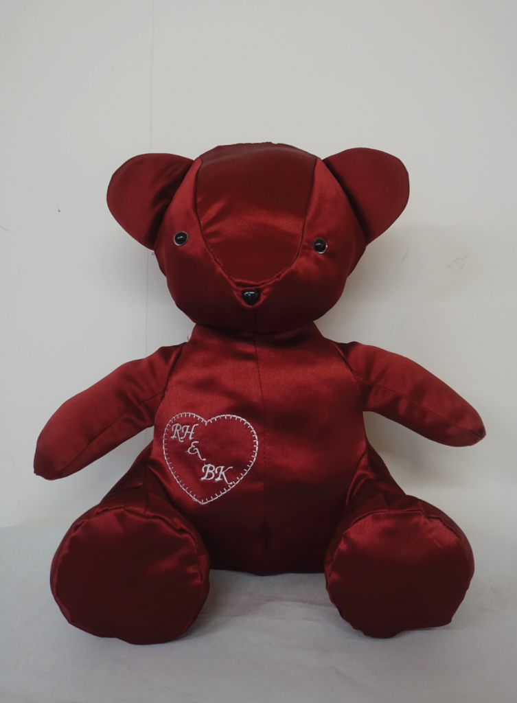 Personalised Valentine's Day Teddy Bear Image