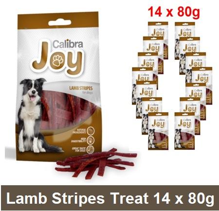 Joy Classic Lamb Strips 80g  14 Image