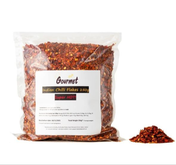 Go Gourmet HOT Chili Flakes  Image