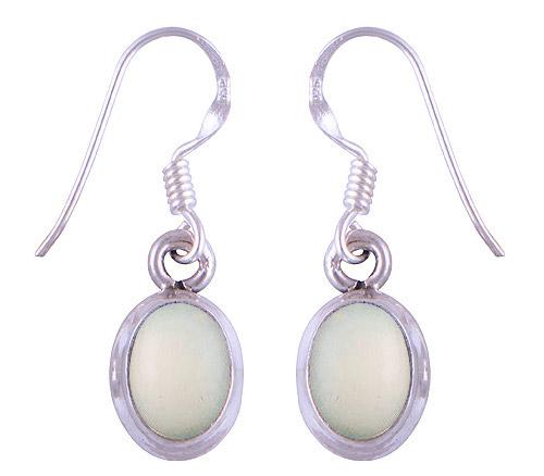 Sterling Silver Ethiopian Opal Earrings  Image