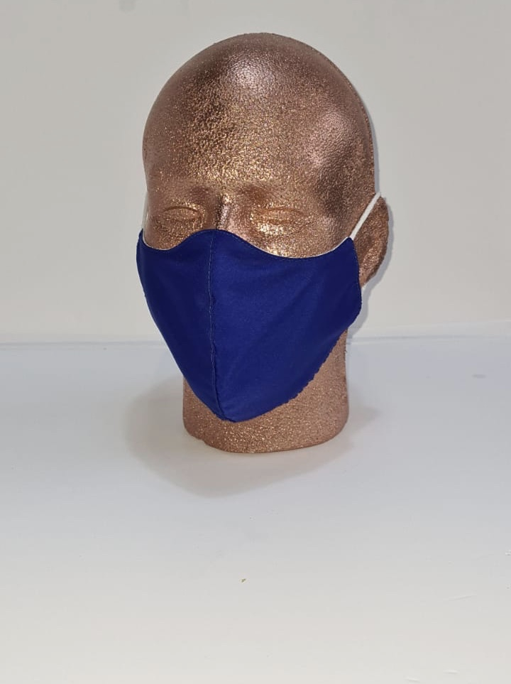 Reusable Face Cover Black Image