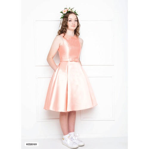 2021 Isabella 20101Box Pleat Confirmation Dress Image