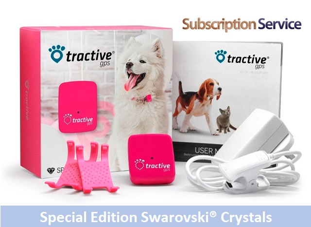 40% OFF Tractive GPS Special Edition with Crystals from Swarovski® Image