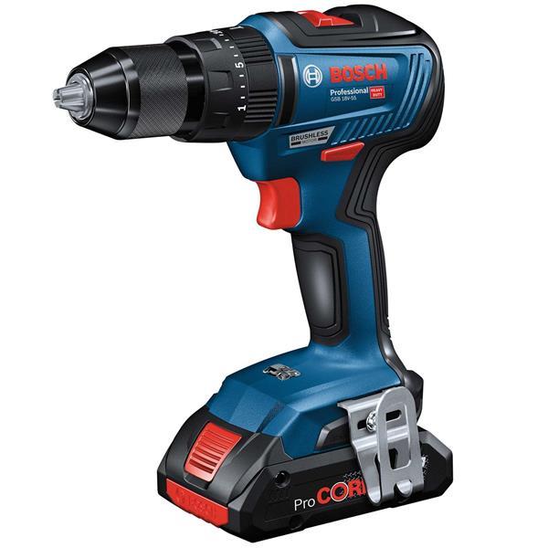 Bosch GSB 18V-55 Cordless Drill Image