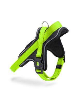 Memopet nylon harness - GREEN - M, W:2.26cm Image