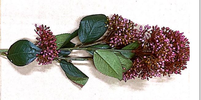 Dark Pink/Red with Green Foliage (Artificial) Image
