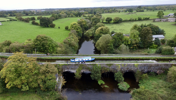 Leinster Aqueduct Cruise - Private Charter (12 people) Image