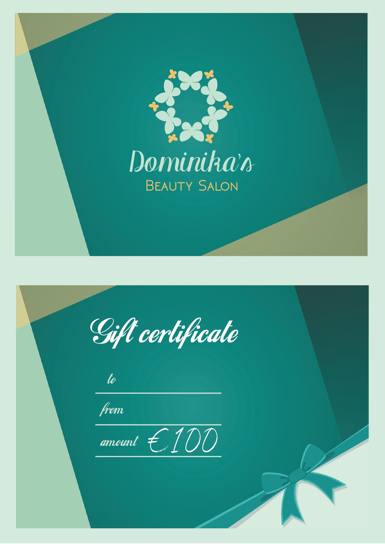 Gift Certificate  €100 Image