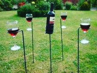 Garden drink stake holders 5 piece Image