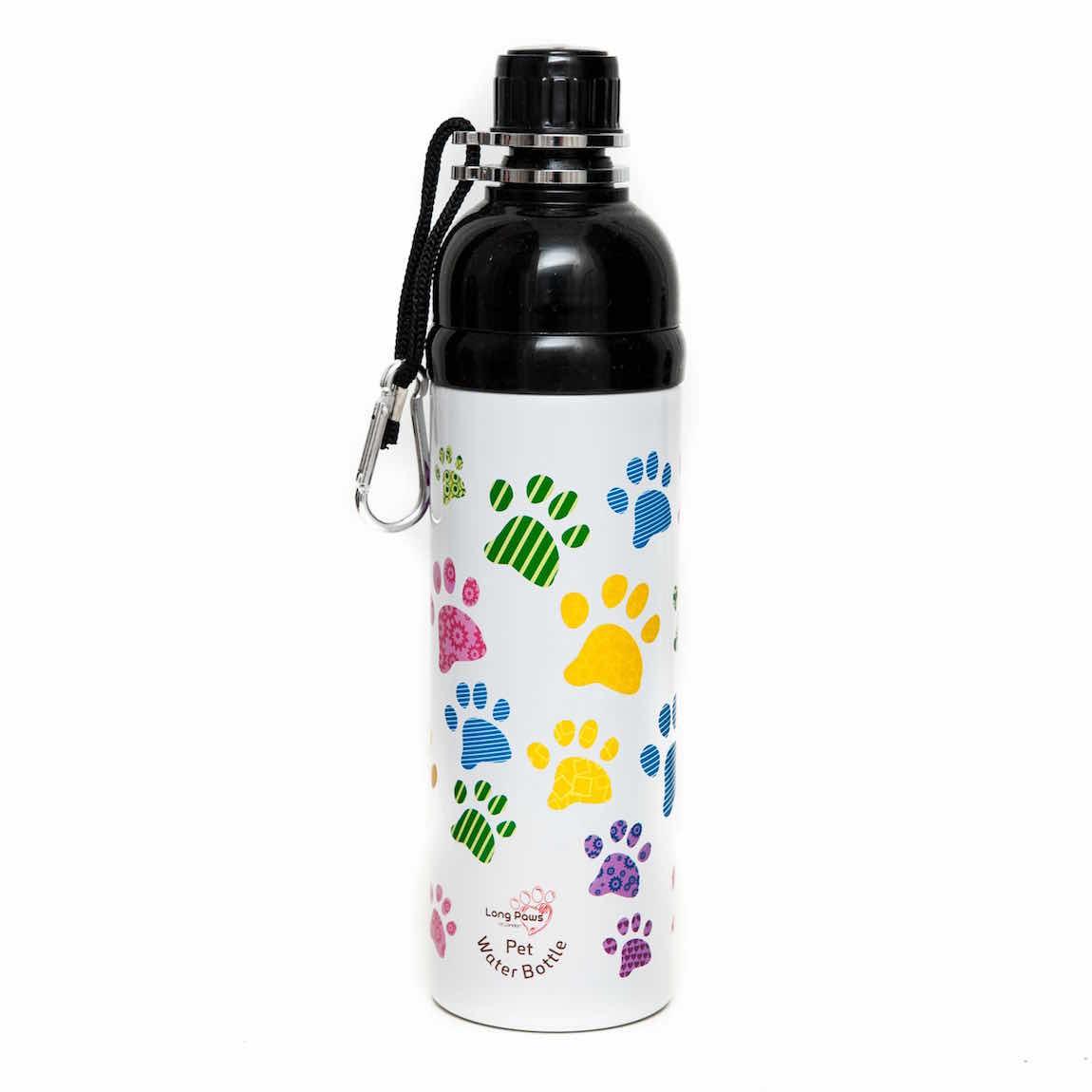 Pet Water Bottle. Paws (750ml) Large. Image