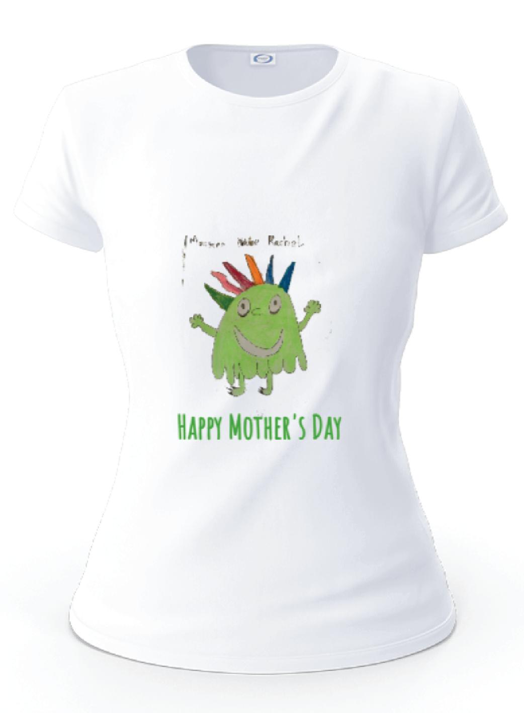 Children's Artwork Printed T-shirt  Image