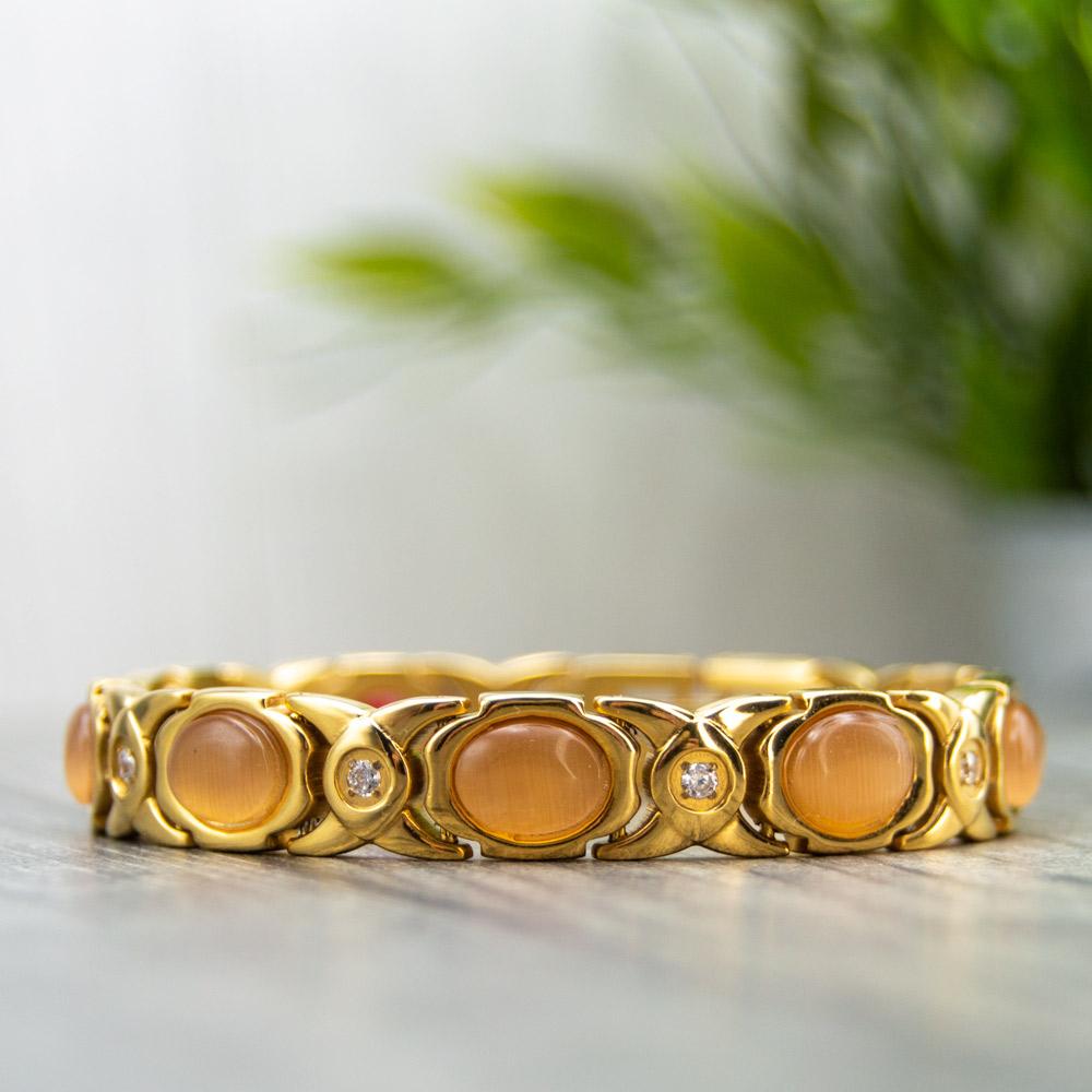 Willow Sun - Women's Magnetic Health Bracelet Image