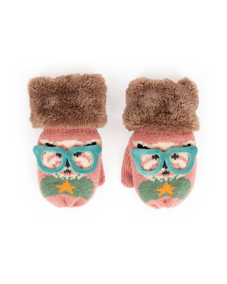 Kiddie Candy Westie Dog Wool Kitten with Fur Cuff Image