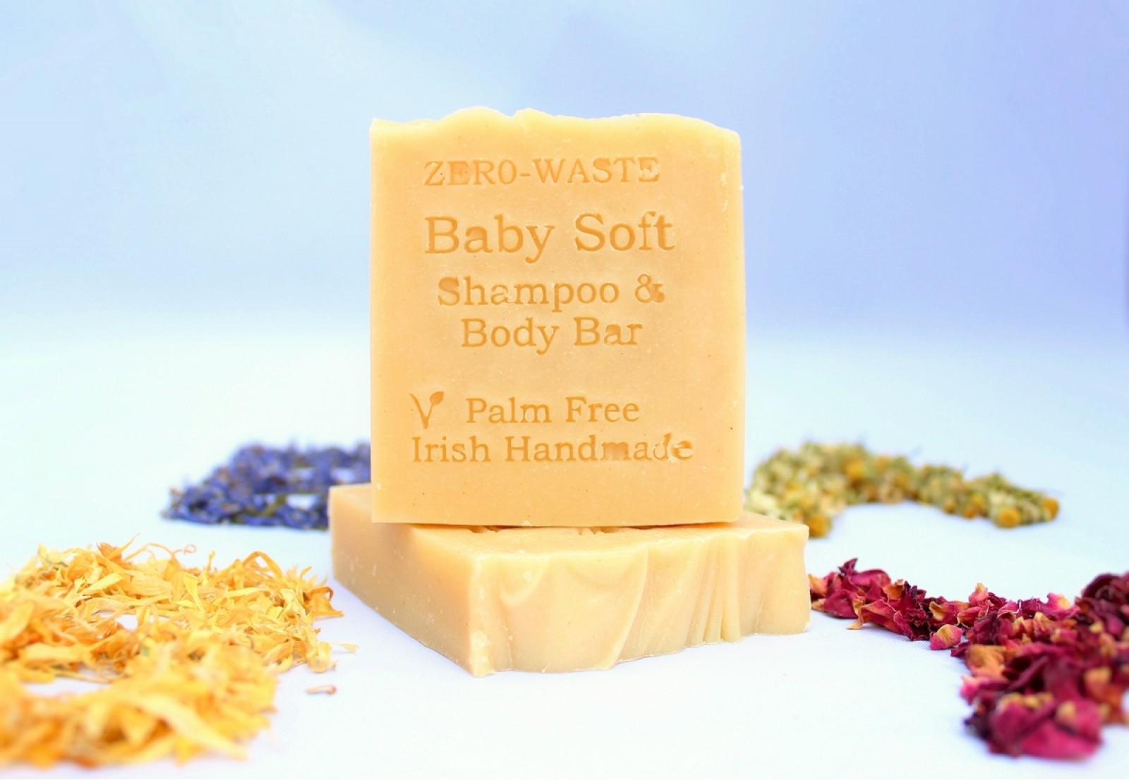 Baby Soft Shampoo & Body Bar Image