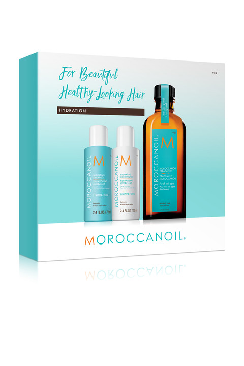 MOROCCANOIL TREATMENT Plus Free Hydrating Shampoo and Conditioner 70ml Image