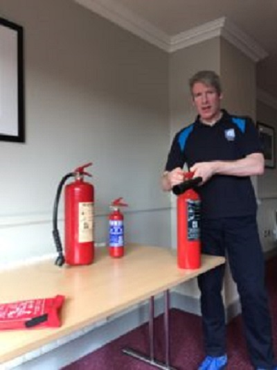 Fire Safety Instructor Image