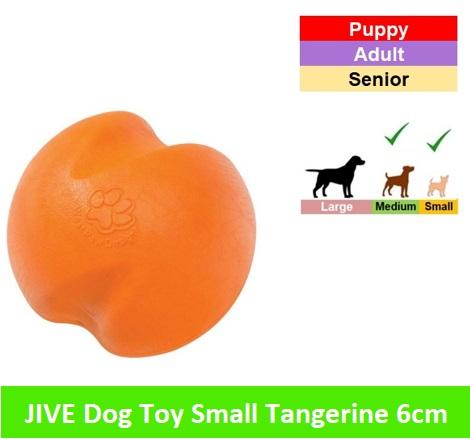 JIVE SMALL - 6 CM * Tangarine orange Image