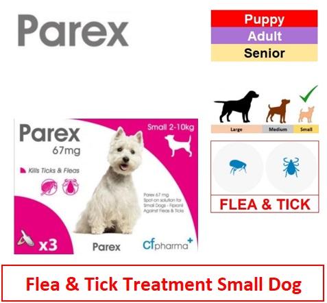 Parex Spot On Small Dog (Qty 3) Image