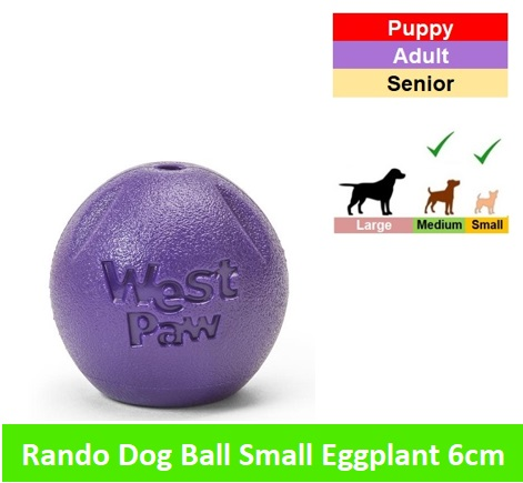 RANDO SMALL 6 CM * Eggplant Image