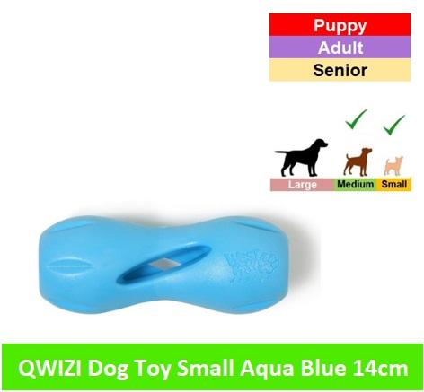 Qwizl small - 14 cm * Aqua blue Image