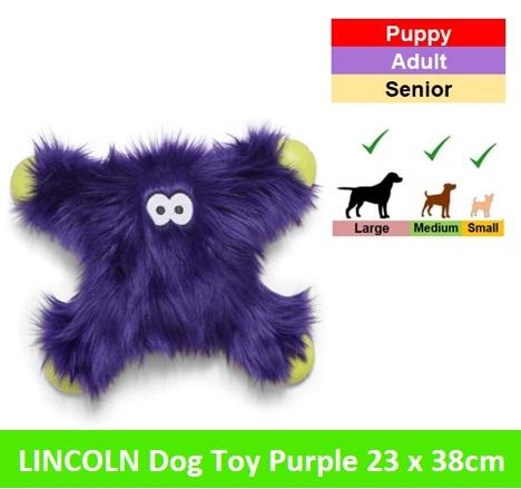 Lincoln 23x28 cm * Purple Fur Image