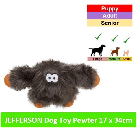 Jefferson 17x34 cm * Pewter Fur Image