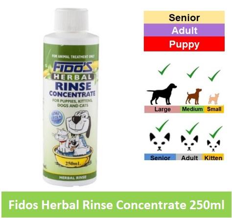 Fido Herbal Rinse Con 250ml Image
