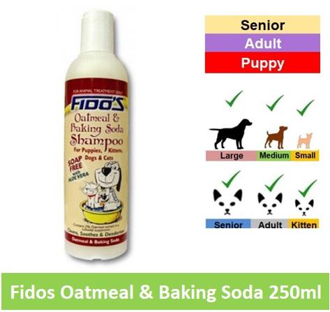 Fido Oatmeal/Baking Soda Shampoo 250ml Image