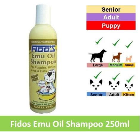 Fido Emu Oil Spo 250ml Image