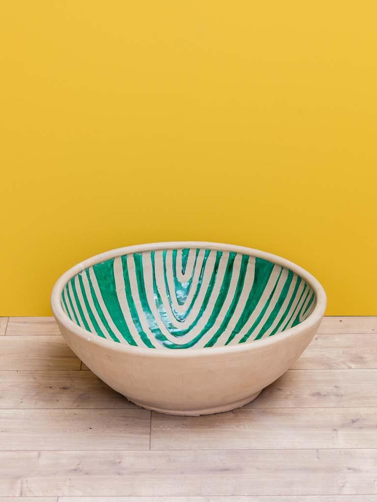 Earthenware Bowl Verdi Image