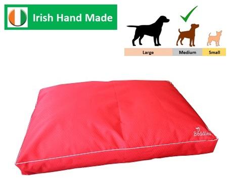 Beddies Waterproof Matress Red/Grey M/L:   100x70 x10cm Image