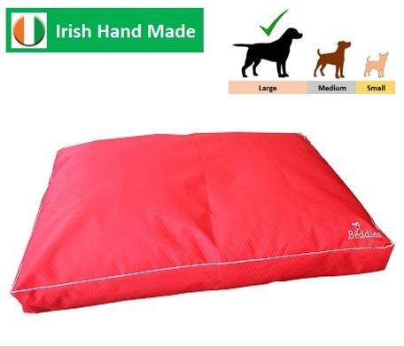 Beddies Waterproof Matress Red/Grey L/XL:  120x70 x10cm Image