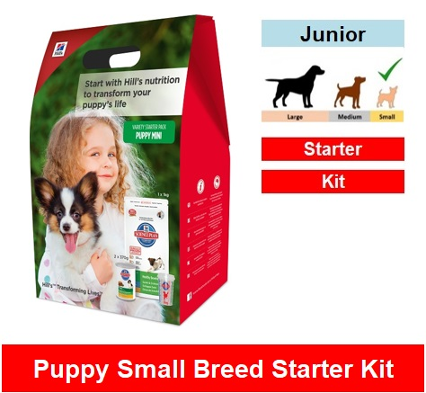 3785 Hill's™ Science Plan™ Puppy Healthy Development™ Mini  Starter Kit  Image