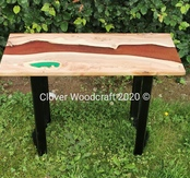 Live Edge Yew River Coffee Table Image