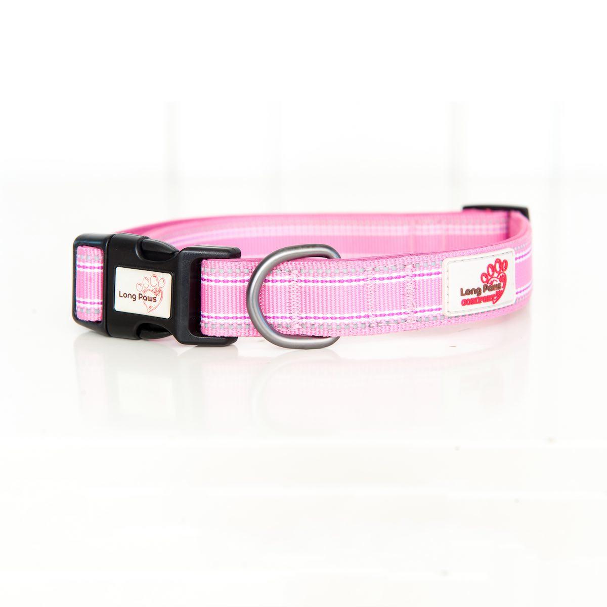Long Paws Comfort Collar Pink Large Image
