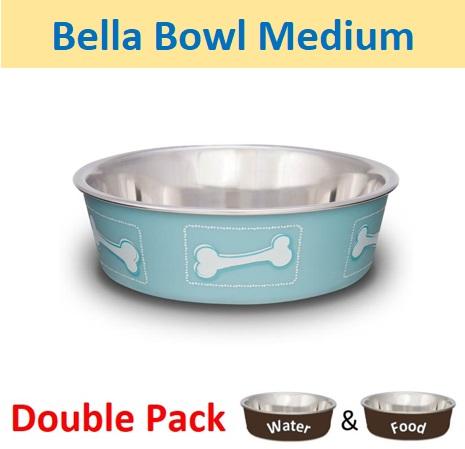 Bella Bowl Medium Costal Blue (1 .14Ltr)