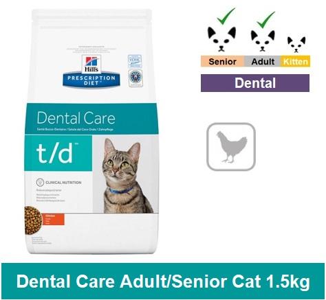8688 Prescription Diet™ t/d™ Feline 1.5kg Image