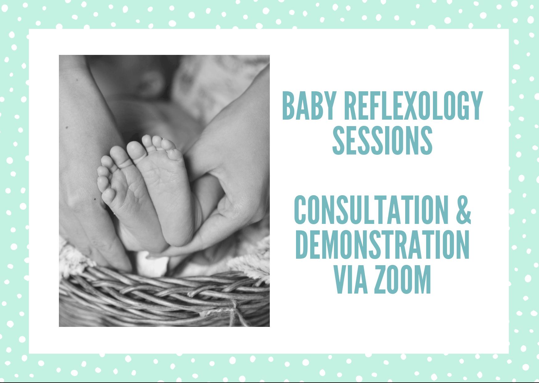 Online Baby Reflexology Session  Image