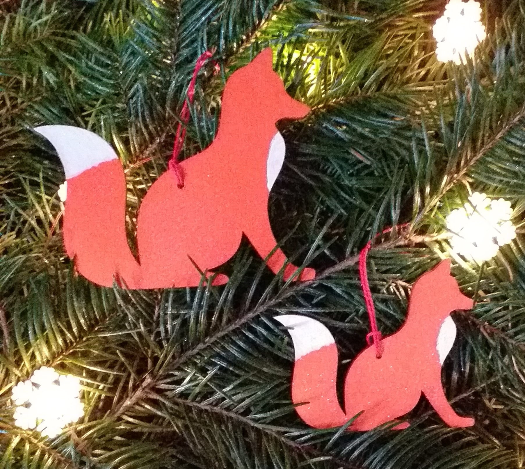 Fox Ornament Image