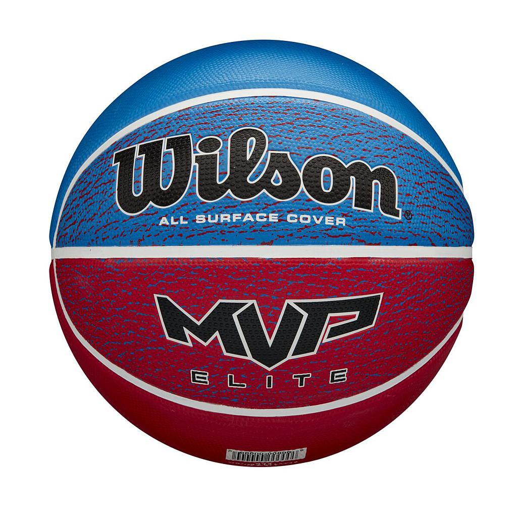 Wilson MVP Elite Basketball Blue/Red Image