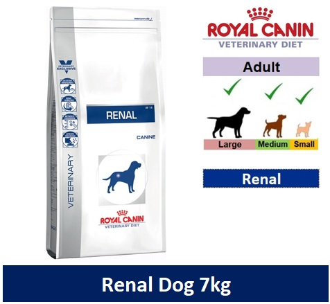 Royal Canin Veterinary Diet Renal Dog 7kg Image